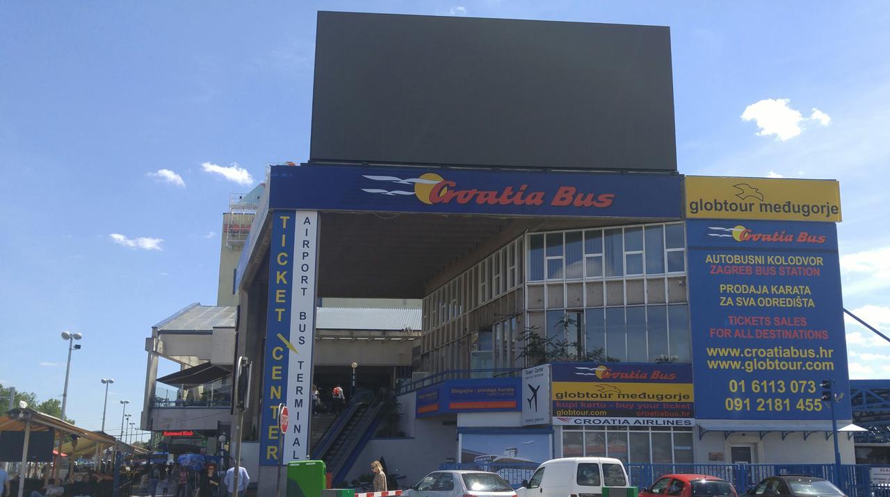 Autobusni Kolodvor Zagreb Digital Signage